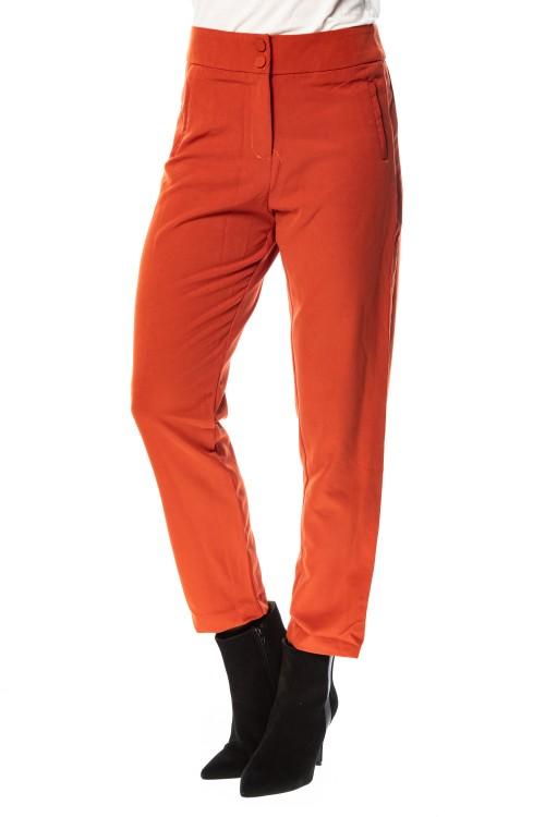 Pantalon droit taille haute