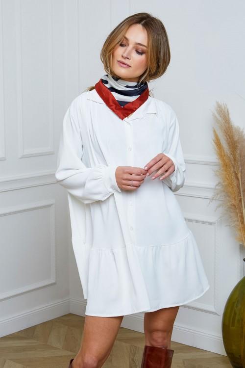 Robe trapèze ample