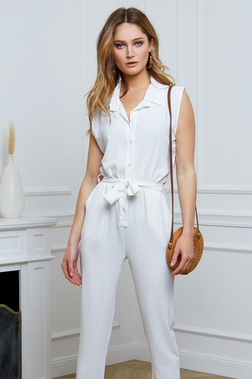 Combinaison pantalon sans manche
