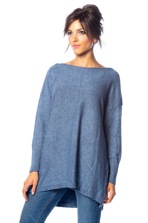 Pull cachemire long