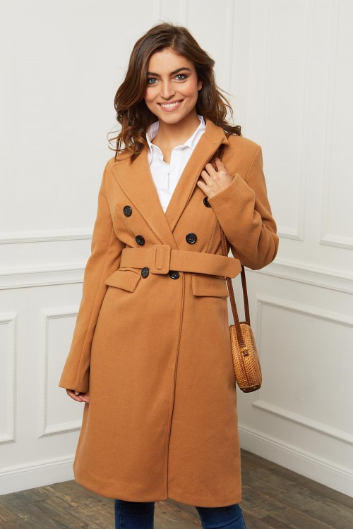 Manteau double boutonnage