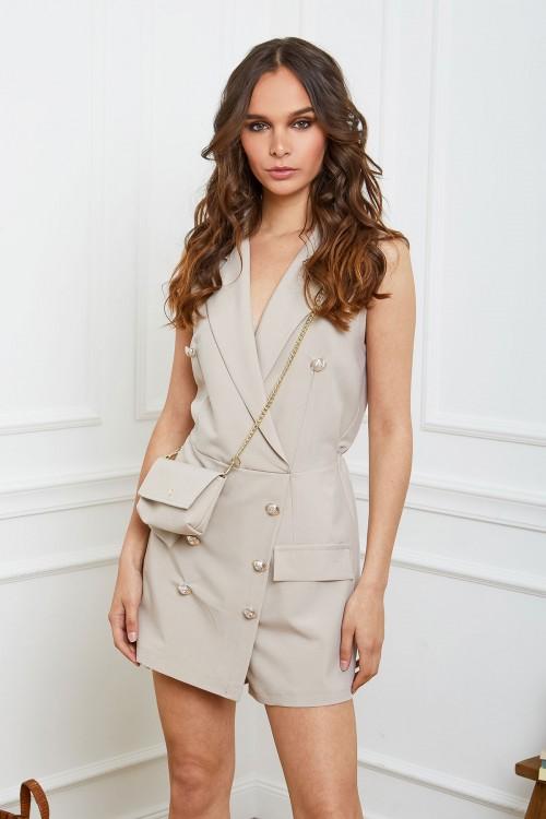 Combishort style blazer