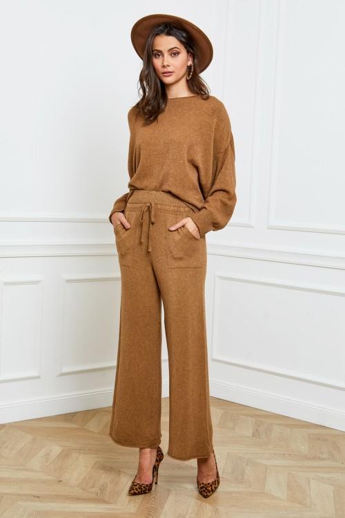 Ensemble pantalon base cachemire